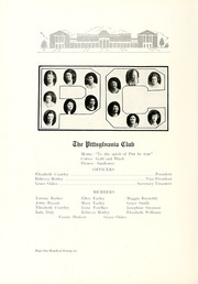 Page 204, 1921 Edition, Longwood College - Virginian Yearbook (Farmville, VA) online yearbook collection