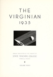 Page 7, 1935 Edition, Longwood College - Virginian Yearbook (Farmville, VA) online yearbook collection