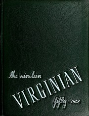 Page 1, 1951 Edition, Longwood College - Virginian Yearbook (Farmville, VA) online yearbook collection
