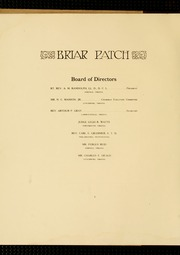 Page 10, 1914 Edition, Sweet Briar College - Briar Patch Yearbook (Sweet Briar, VA) online yearbook collection