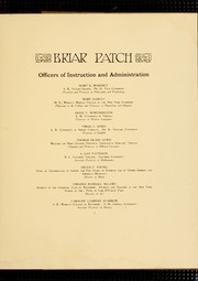 Page 11, 1914 Edition, Sweet Briar College - Briar Patch Yearbook (Sweet Briar, VA) online yearbook collection