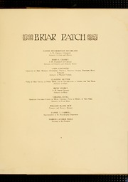Page 13, 1914 Edition, Sweet Briar College - Briar Patch Yearbook (Sweet Briar, VA) online yearbook collection
