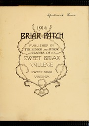 Page 5, 1914 Edition, Sweet Briar College - Briar Patch Yearbook (Sweet Briar, VA) online yearbook collection