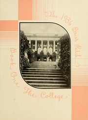 Page 13, 1936 Edition, Sweet Briar College - Briar Patch Yearbook (Sweet Briar, VA) online yearbook collection