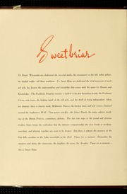 Page 8, 1941 Edition, Sweet Briar College - Briar Patch Yearbook (Sweet Briar, VA) online yearbook collection