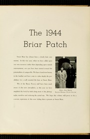 Page 8, 1944 Edition, Sweet Briar College - Briar Patch Yearbook (Sweet Briar, VA) online yearbook collection