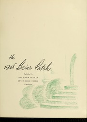 Page 5, 1948 Edition, Sweet Briar College - Briar Patch Yearbook (Sweet Briar, VA) online yearbook collection