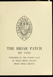 Page 5, 1950 Edition, Sweet Briar College - Briar Patch Yearbook (Sweet Briar, VA) online yearbook collection
