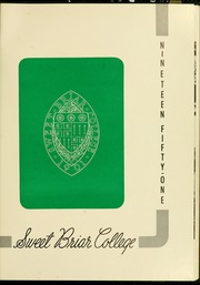 Page 5, 1951 Edition, Sweet Briar College - Briar Patch Yearbook (Sweet Briar, VA) online yearbook collection
