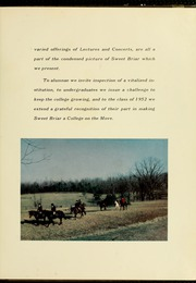 Page 11, 1952 Edition, Sweet Briar College - Briar Patch Yearbook (Sweet Briar, VA) online yearbook collection