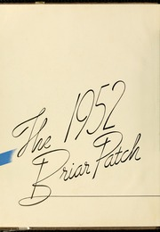 Page 6, 1952 Edition, Sweet Briar College - Briar Patch Yearbook (Sweet Briar, VA) online yearbook collection