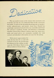 Page 9, 1952 Edition, Sweet Briar College - Briar Patch Yearbook (Sweet Briar, VA) online yearbook collection
