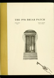 Page 5, 1956 Edition, Sweet Briar College - Briar Patch Yearbook (Sweet Briar, VA) online yearbook collection