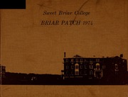 1974 Edition, Sweet Briar College - Briar Patch Yearbook (Sweet Briar, VA)