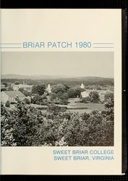 Page 7, 1980 Edition, Sweet Briar College - Briar Patch Yearbook (Sweet Briar, VA) online yearbook collection