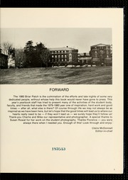 Page 9, 1980 Edition, Sweet Briar College - Briar Patch Yearbook (Sweet Briar, VA) online yearbook collection