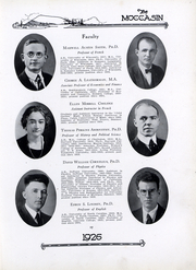 Page 17, 1926 Edition, University of Tennessee Chattanooga - Moccasin Yearbook (Chattanooga, TN) online yearbook collection