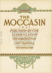 Page 9, 1931 Edition, University of Tennessee Chattanooga - Moccasin Yearbook (Chattanooga, TN) online yearbook collection