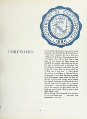 Page 9, 1964 Edition, University of Tennessee Chattanooga - Moccasin Yearbook (Chattanooga, TN) online yearbook collection