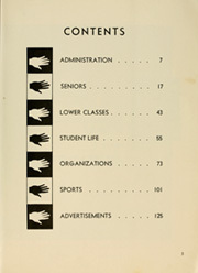 Page 9, 1958 Edition, Encinal High School - Horizon Yearbook (Alameda, CA) online yearbook collection