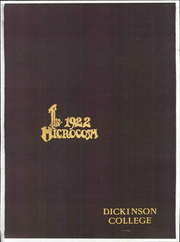 Page 1, 1922 Edition, Dickinson College - Microcosm Yearbook (Carlisle, PA) online yearbook collection