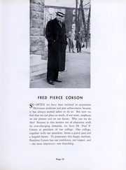 Page 14, 1939 Edition, Dickinson College - Microcosm Yearbook (Carlisle, PA) online yearbook collection
