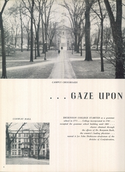 Page 12, 1952 Edition, Dickinson College - Microcosm Yearbook (Carlisle, PA) online yearbook collection