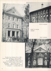 Page 14, 1952 Edition, Dickinson College - Microcosm Yearbook (Carlisle, PA) online yearbook collection