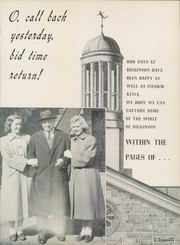 Page 5, 1952 Edition, Dickinson College - Microcosm Yearbook (Carlisle, PA) online yearbook collection