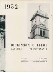 Page 7, 1952 Edition, Dickinson College - Microcosm Yearbook (Carlisle, PA) online yearbook collection