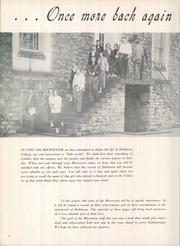 Page 8, 1952 Edition, Dickinson College - Microcosm Yearbook (Carlisle, PA) online yearbook collection