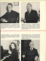 Page 17, 1957 Edition, Dickinson College - Microcosm Yearbook (Carlisle, PA) online yearbook collection