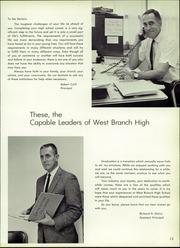Page 17, 1966 Edition, West Branch High School - Warrior Yearbook (Beloit, OH) online yearbook collection