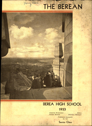 Page 5, 1933 Edition, Berea High School - Berean Yearbook (Berea, OH) online yearbook collection
