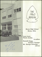 Page 7, 1960 Edition, Berea High School - Berean Yearbook (Berea, OH) online yearbook collection
