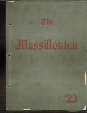 1923 Edition, Massillon Washington High School - Massillonian Yearbook (Massillon, OH)