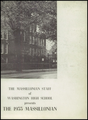 Page 7, 1955 Edition, Massillon Washington High School - Massillonian Yearbook (Massillon, OH) online yearbook collection