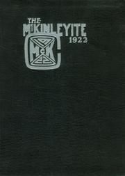Page 1, 1922 Edition, McKinley High School - McKinleyite Yearbook (Canton, OH) online yearbook collection