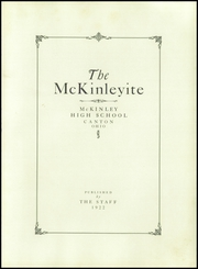 Page 9, 1922 Edition, McKinley High School - McKinleyite Yearbook (Canton, OH) online yearbook collection