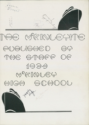 Page 5, 1934 Edition, McKinley High School - McKinleyite Yearbook (Canton, OH) online yearbook collection