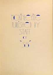 Page 7, 1938 Edition, McKinley High School - McKinleyite Yearbook (Canton, OH) online yearbook collection