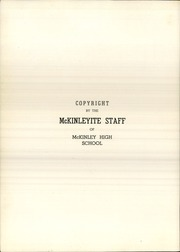 Page 6, 1940 Edition, McKinley High School - McKinleyite Yearbook (Canton, OH) online yearbook collection