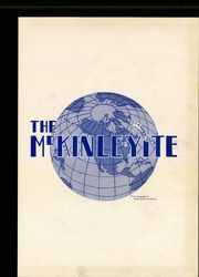 Page 3, 1944 Edition, McKinley High School - McKinleyite Yearbook (Canton, OH) online yearbook collection