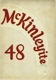 McKinley High School - McKinleyite Yearbook (Canton, OH) online yearbook collection, 1948 Edition, Page 1