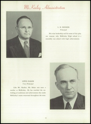 Page 16, 1950 Edition, McKinley High School - McKinleyite Yearbook (Canton, OH) online yearbook collection