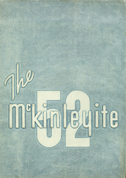 1952 Edition, McKinley High School - McKinleyite Yearbook (Canton, OH)