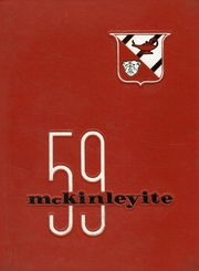 1959 Edition, McKinley High School - McKinleyite Yearbook (Canton, OH)