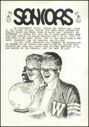 Page 15, 1944 Edition, Woodward High School - Saga Yearbook (Toledo, OH) online yearbook collection