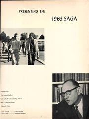 Page 5, 1963 Edition, Woodward High School - Saga Yearbook (Toledo, OH) online yearbook collection