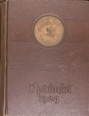 Page 1, 1929 Edition, Middletown High School - Optimist Yearbook (Middletown, OH) online yearbook collection